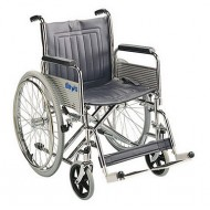 "20"" Heavy Duty Self Propelled Steel Wheelchair"