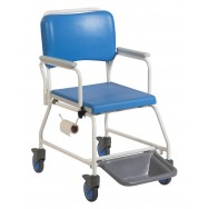 Atlantic Commode and Shower Chair with Footrests