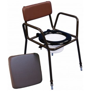 Adjustable Height Stackable Commodes