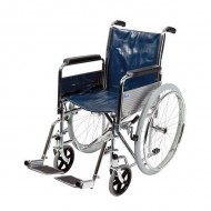 "18"" Self-Propelled Wheelchair with Folding Back"