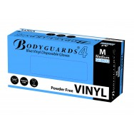 Blue Vinyl Powder-Free Gloves
