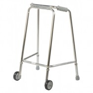 Large Domestic Style Wheeled Adjustable Height Walking Aid